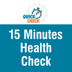 15 minutes health check